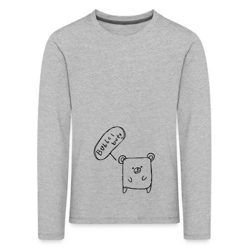 Bubbel But! - Långärmad premium-T-shirt barn