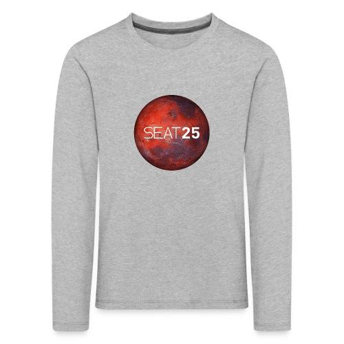 Mars and Logo - Kids' Premium Longsleeve Shirt
