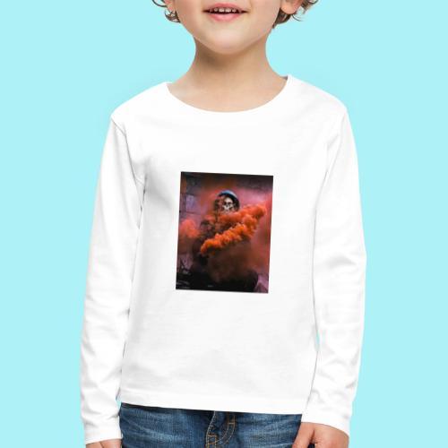 Squelette brumeux - T-shirt manches longues Premium Enfant