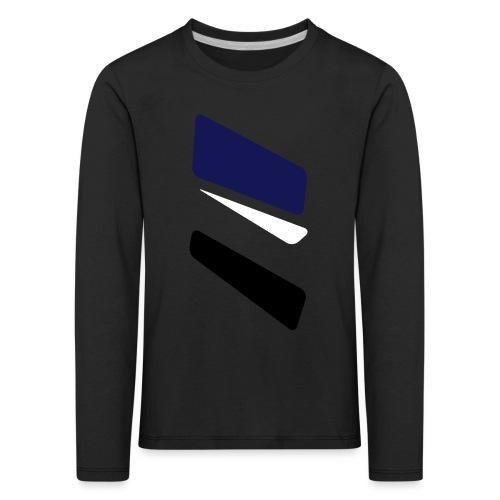 3 strikes triangle - Kids' Premium Longsleeve Shirt