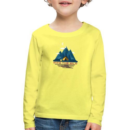 Into the wild - T-shirt manches longues Premium Enfant