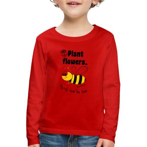 Bees8-2 Bringt die Bienen zurück! | Bookrebels - Kids' Premium Longsleeve Shirt