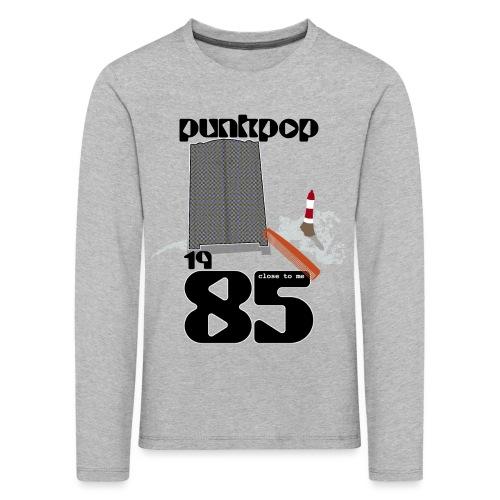 Dark Close PunkPop 1985 - Maglietta Premium a manica lunga per bambini