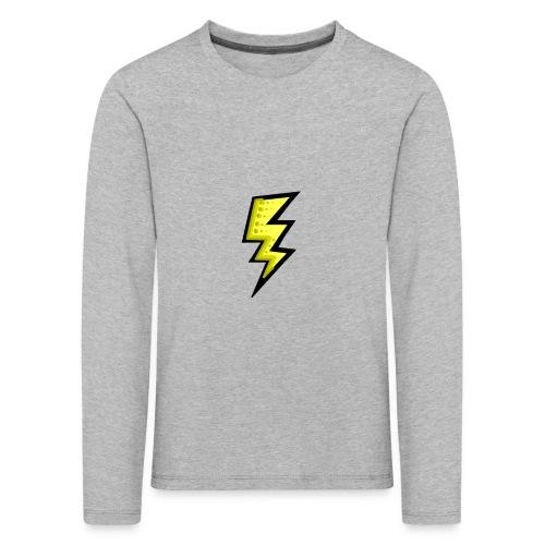 bliksem - Kinderen Premium shirt met lange mouwen