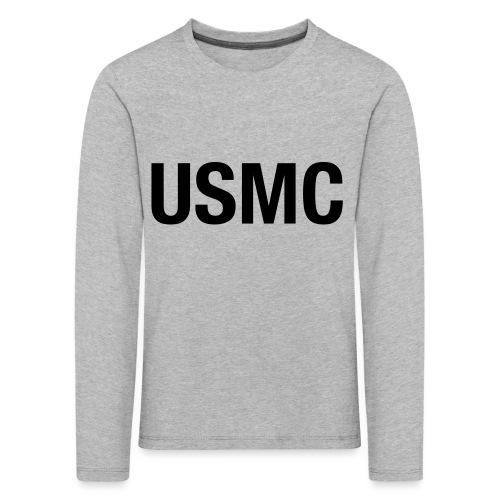 USMC - Kids' Premium Longsleeve Shirt