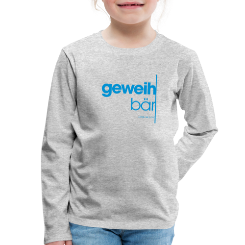 geweihbär 2019 - Kinder Premium Langarmshirt