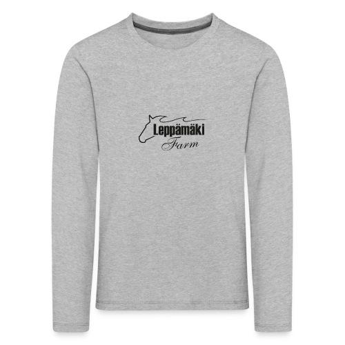 leppis - Lasten premium pitkähihainen t-paita
