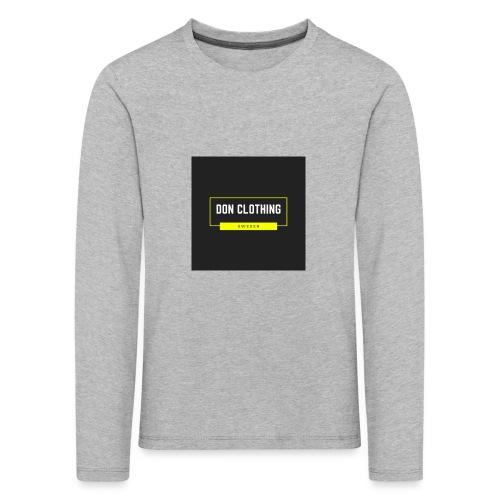 Don kläder - Långärmad premium-T-shirt barn