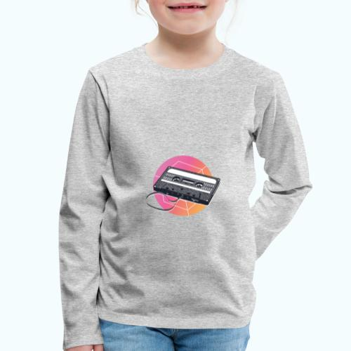 80s Vintage Cassette - Kids' Premium Longsleeve Shirt