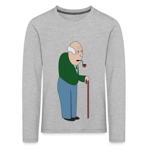 Old Tosspot - Kids' Premium Longsleeve Shirt