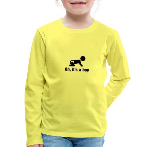 Baby Boy - Kinder Premium Langarmshirt