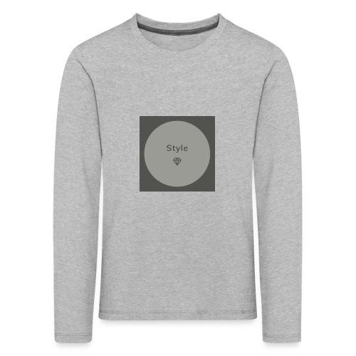 Style - Kinder Premium Langarmshirt