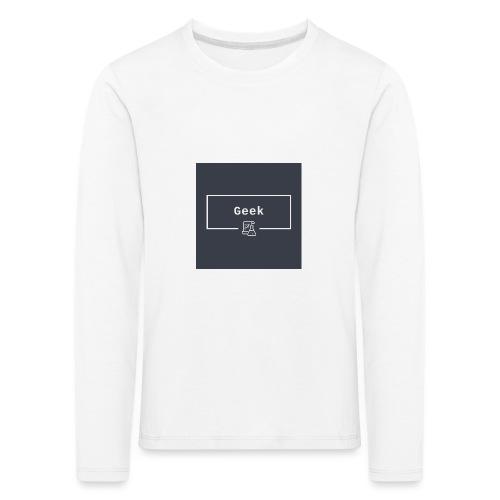 logo - Kinder Premium Langarmshirt
