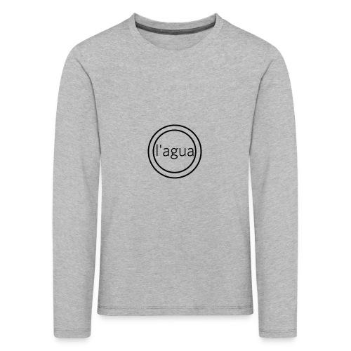 l agua black theme - Kids' Premium Longsleeve Shirt