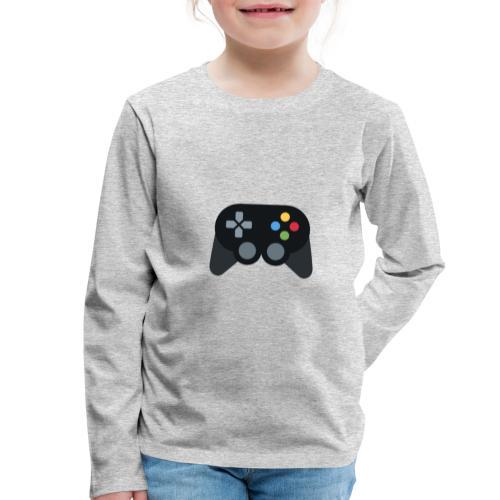 Spil Til Dig Controller Kollektionen - Børne premium T-shirt med lange ærmer
