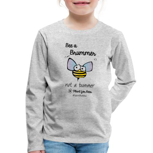 Bees6-2 Save the bees - Kids' Premium Longsleeve Shirt