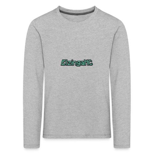 ElzingaMC - Kinderen Premium shirt met lange mouwen