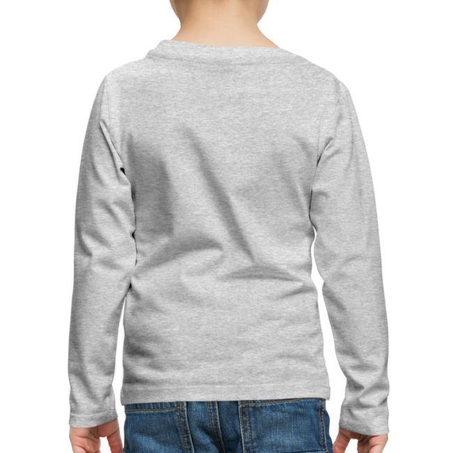 Vorschau: A Hirn wia a Nudlsieb - Kinder Premium Langarmshirt