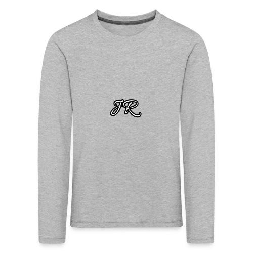 JR Logo Mens T-Shirt - Kids' Premium Longsleeve Shirt