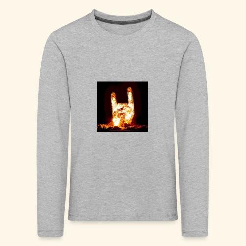 fingers bomb - T-shirt manches longues Premium Enfant
