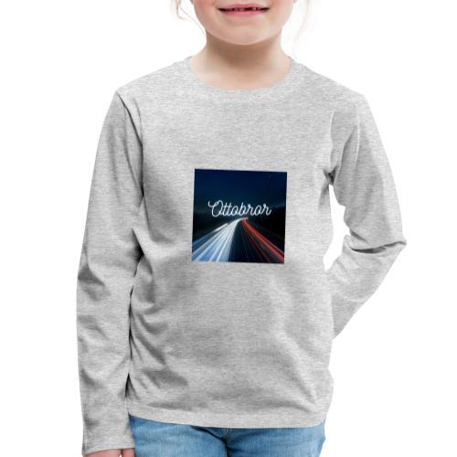 Ottobror 1 - Långärmad premium-T-shirt barn