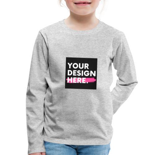 Custom-made - Långärmad premium-T-shirt barn