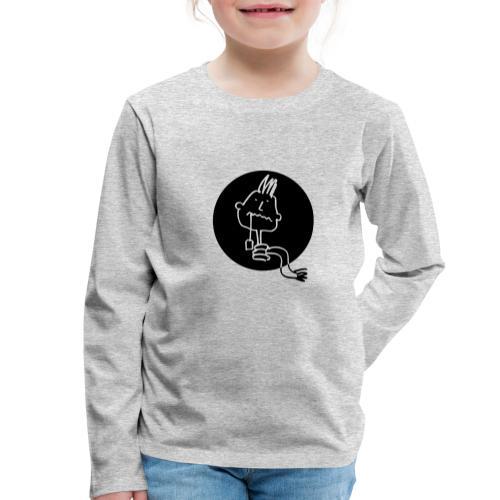 healthhead01rund - Kinder Premium Langarmshirt