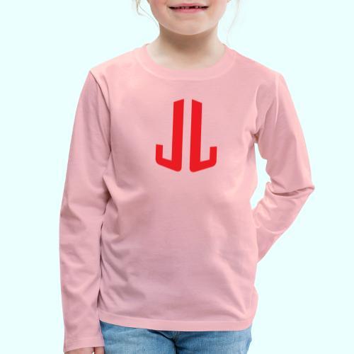 BodyTrainer JL - Lasten premium pitkähihainen t-paita