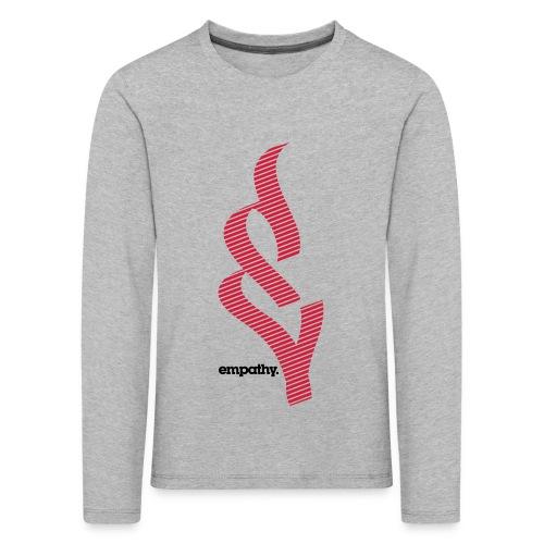 empathy e2 - Koszulka dziecięca Premium z długim rękawem