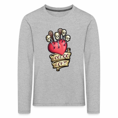 AMOR VOODOO - Camiseta de manga larga premium niño