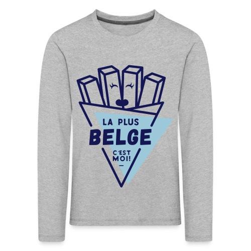 La+Belge - T-shirt manches longues Premium Enfant