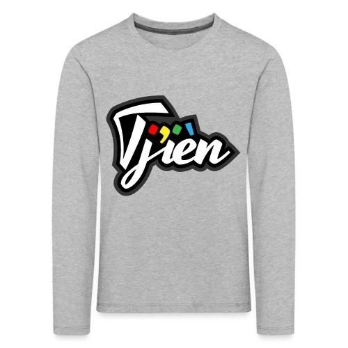 Tjien Logo Design - Kinderen Premium shirt met lange mouwen