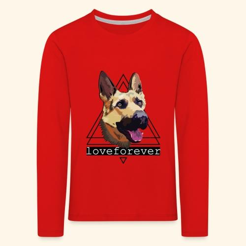SHEPHERD LOVE FOREVER - Camiseta de manga larga premium niño