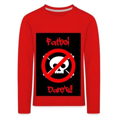 Fatboi Dares's logo - Kids' Premium Longsleeve Shirt