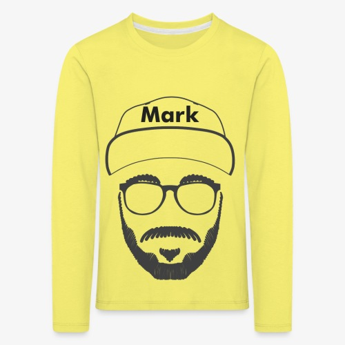 Mark - Nicht Kaddafelt - Kinder Premium Langarmshirt