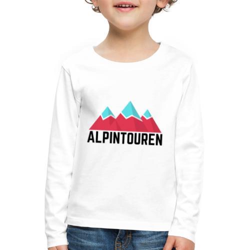 Alpintouren - Kinder Premium Langarmshirt