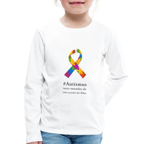 Inter-Mundos Autismus-Schleife - Kinder Premium Langarmshirt