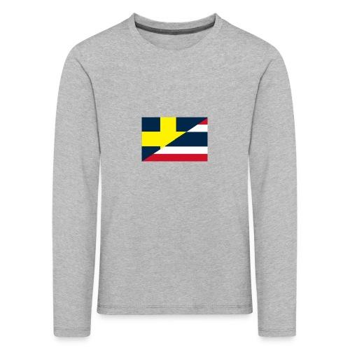 Sverige Thailand - Långärmad premium-T-shirt barn