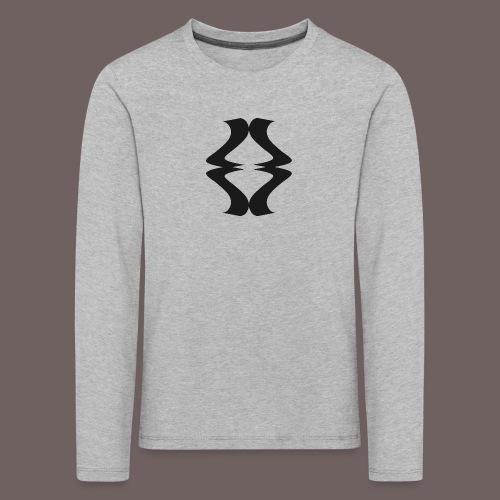 GBIGBO zjebeezjeboo - Rock - As de pique - T-shirt manches longues Premium Enfant