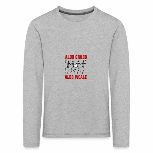 446 5574 przod editor - Koszulka dziecięca Premium z długim rękawem