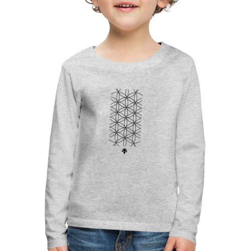 Deritorisada - Die Blume des Anfangs - Kinder Premium Langarmshirt