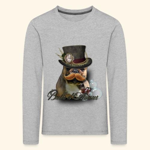 bouledogue détective - T-shirt manches longues Premium Enfant