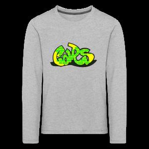 Car Collection - Premium langermet T-skjorte for barn