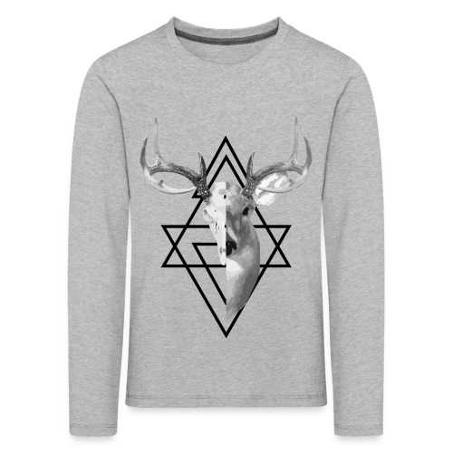 My Deer - Lasten premium pitkähihainen t-paita