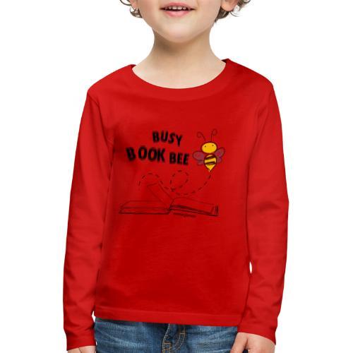 Bees5-1Bienen und Bücher | save the bees - Kids' Premium Longsleeve Shirt
