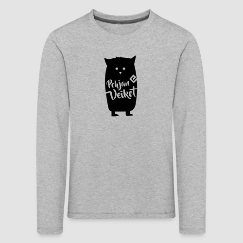 Veikko-pöllö - Lasten premium pitkähihainen t-paita