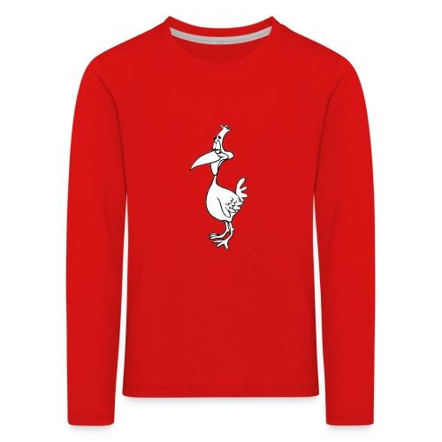 Vogel Design - Kinder Premium Langarmshirt