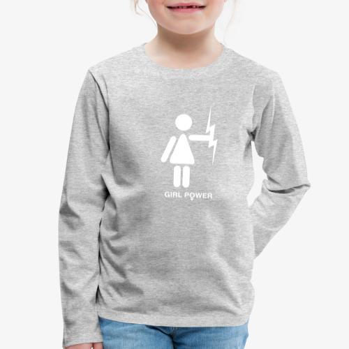GP - Koszulka dziecięca Premium z długim rękawem