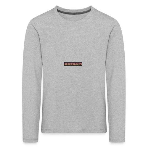 Abgecracked - Kinder Premium Langarmshirt