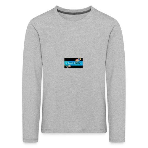 Chokladis Barn T-Shirt - Långärmad premium-T-shirt barn